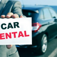 What kind of information can a car rental company ask from us?