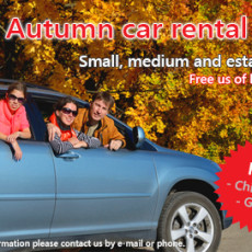 Pocket Rent-a-Car autumn sale (2015)
