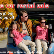 Station Wagon car rental sale (2015)