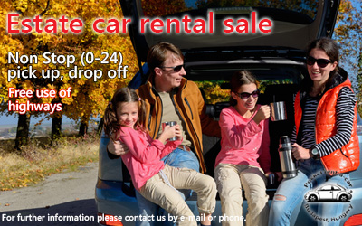 car rental sale station wagon