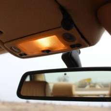About the rear-view mirrors
