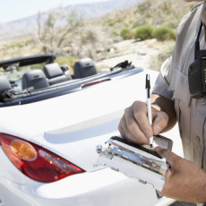 How to avoid getting a traffic ticket?