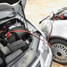 What to do if the car's battery discharged?