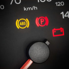 About the dashboard warning lights