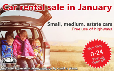 car rental sale