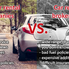 Local car rental companies vs car rental brokerages