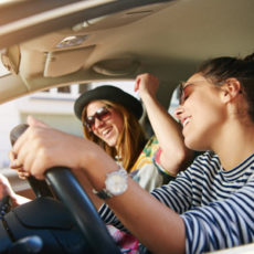 Strange things that people do while driving