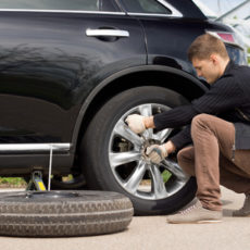 How to change a tire?