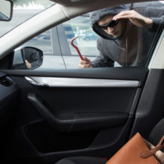What to do if the rental car is damaged or broken into?